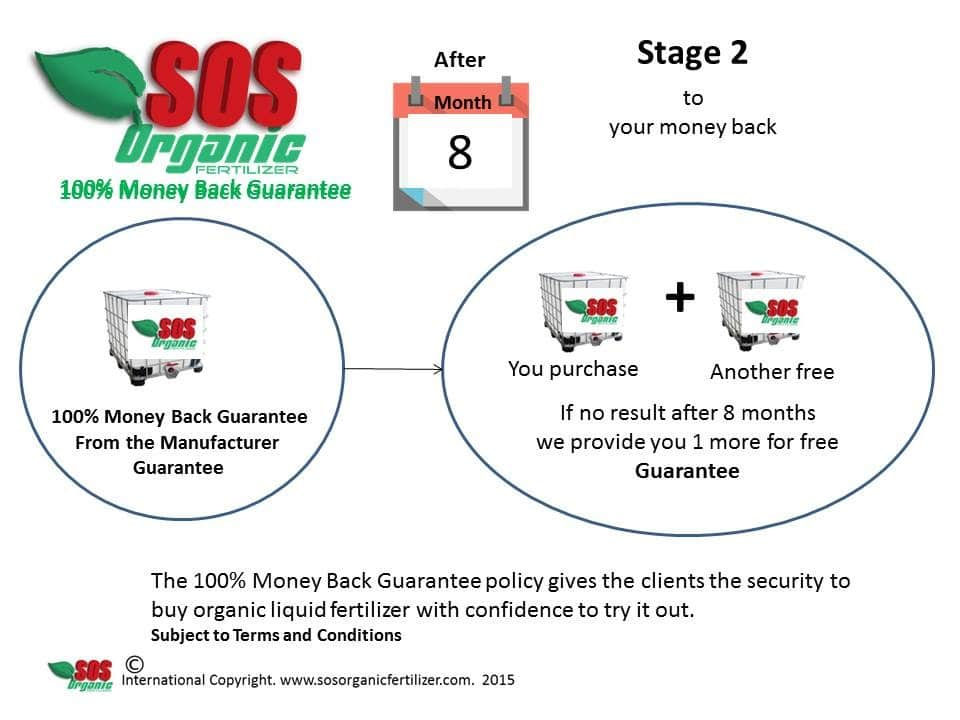 Money Back Guarantee Process Stage 2