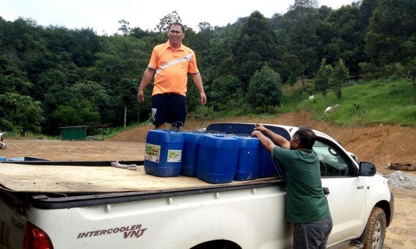 Liquid Organic Fertilizer Giveaway – KG Biah Keningau