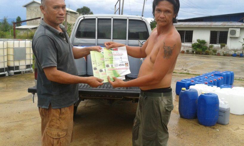 Organic Fertilizer Pickup from Papar Distribution Center, Sabah