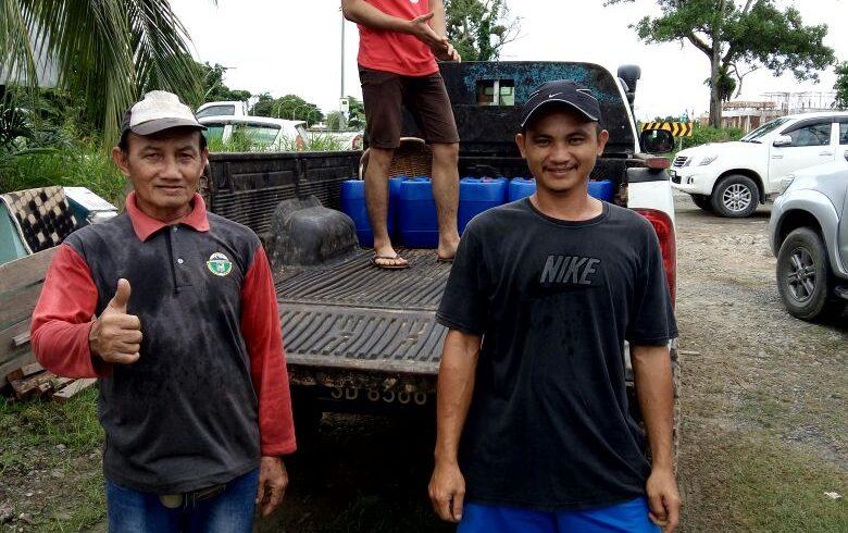 Organic Fertilizer Delivery to Beluran & KALABAKAN , Lahad Datu