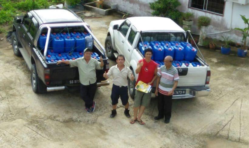 Organic Fertilizer Pickup from Papar Distriubtion Center, Sabah