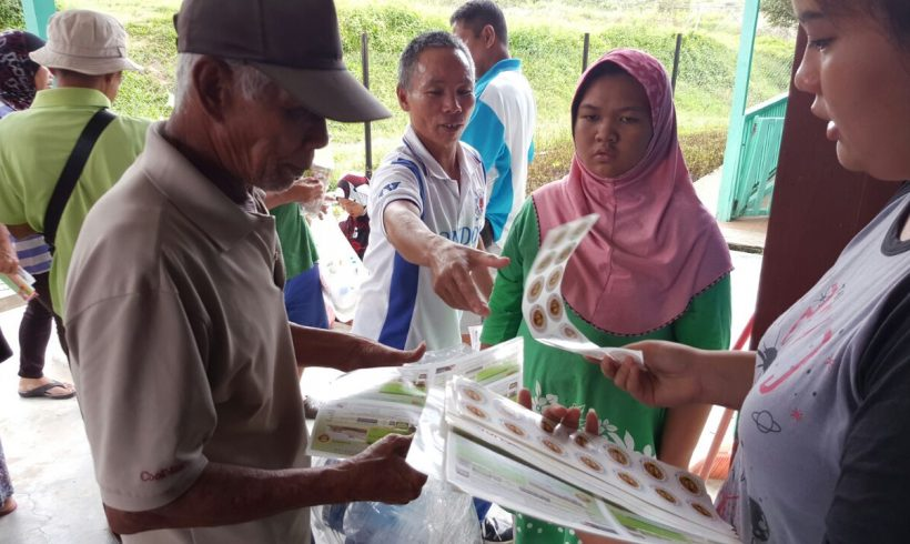 Organic Liquid Fertilizer Giveaway Ranau 19.11.2016
