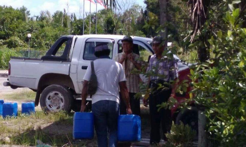 Journey Starts – 16 Nov – Delivery and Distribution of SOS Organic Liquid  Fertilizer  for Tangkarason & Beluran