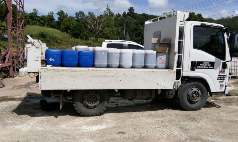 Organic Fertilizer Pickup – Papar, Sabah.