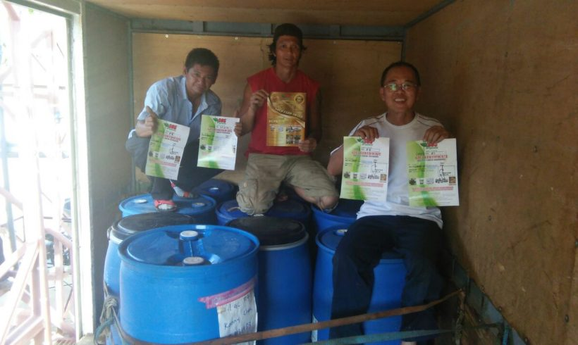 Organic Fertilizer Pickup 5/12/2016 From Papar, Sabah