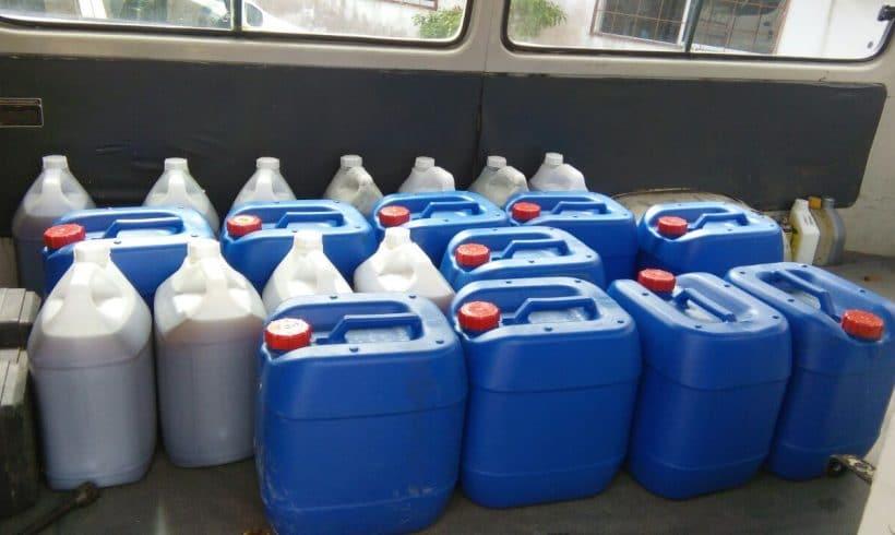 Organic Fertilizer Pickup 5/12/2016 From Papar, Sabah
