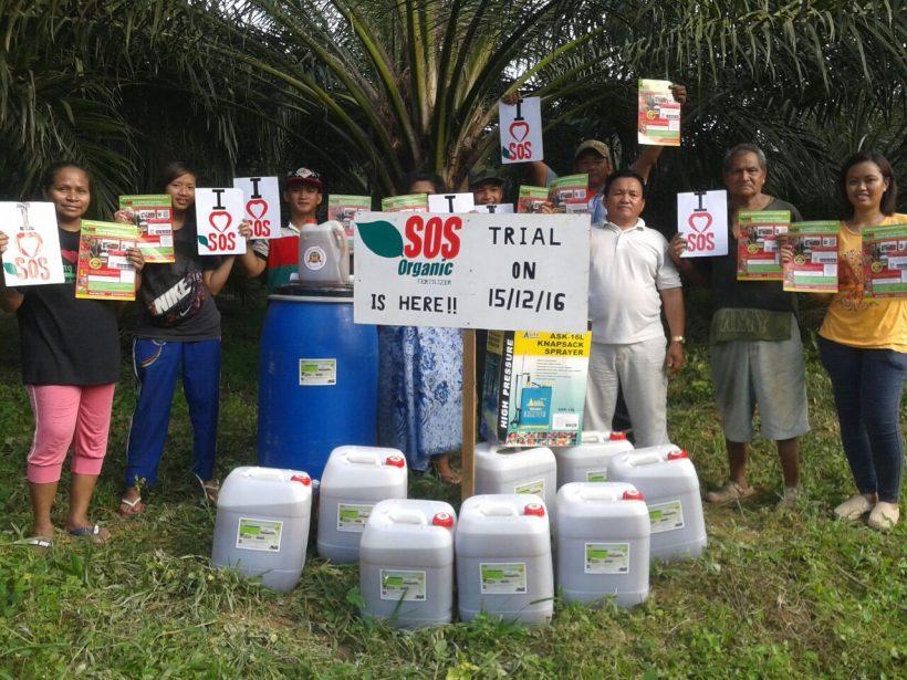 Organic Fertilizer Trial