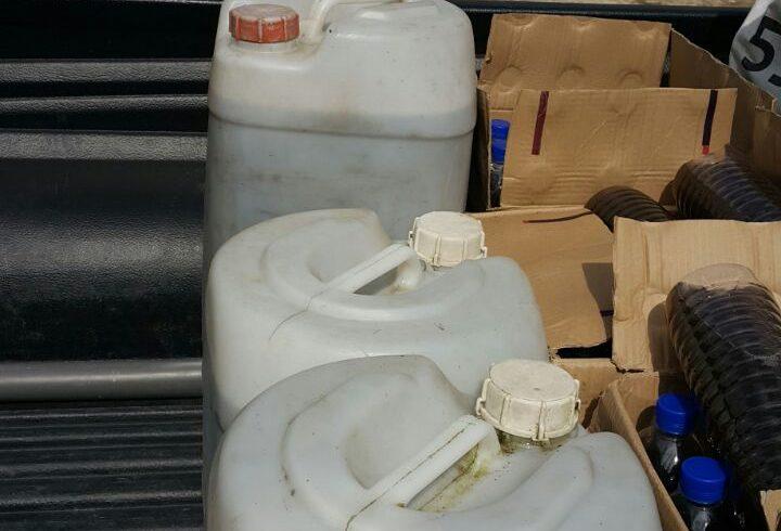 Organic Fertilizer pickup from Papar distribution center, 11 January 2017